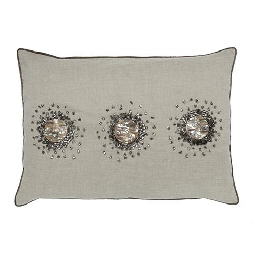 Pearl Wheat 14 x 20 In. Decorative Pillow