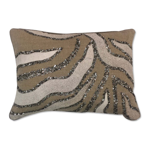 Rana Beige 14 x 20 In. Decorative Pillow