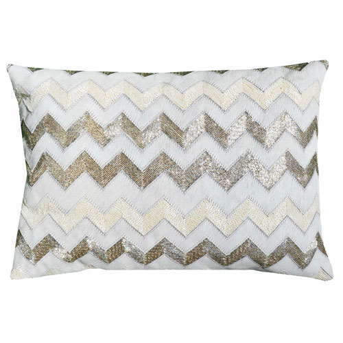 Cloud9 Design Agon Ivory 14 x 20 In. Decorative Pillow