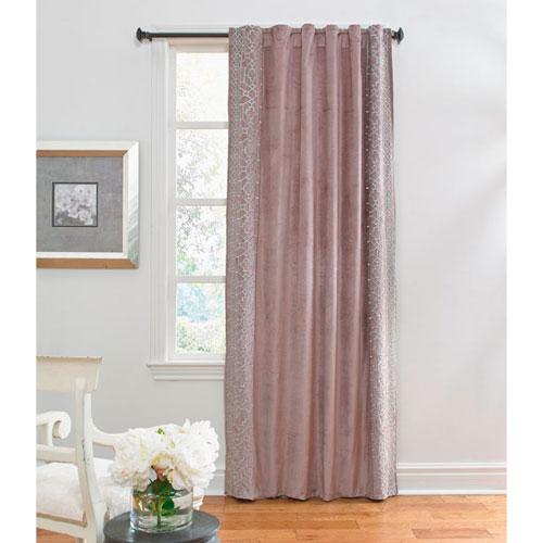 Ash Brown 96 x 54 In. Velvet Curtain Panel
