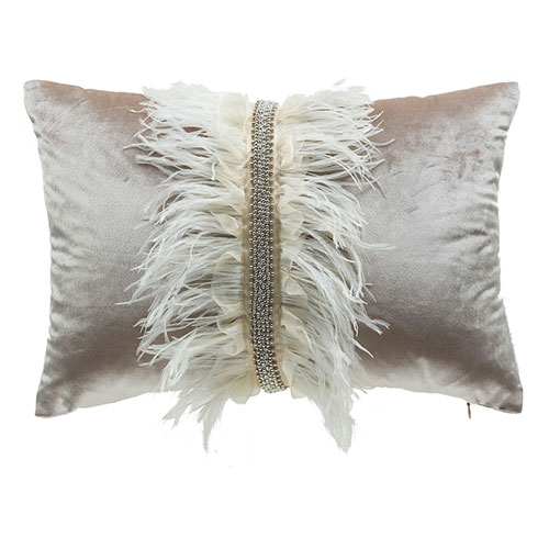 Ava Beige 14 x 20 In. Decorative Pillow