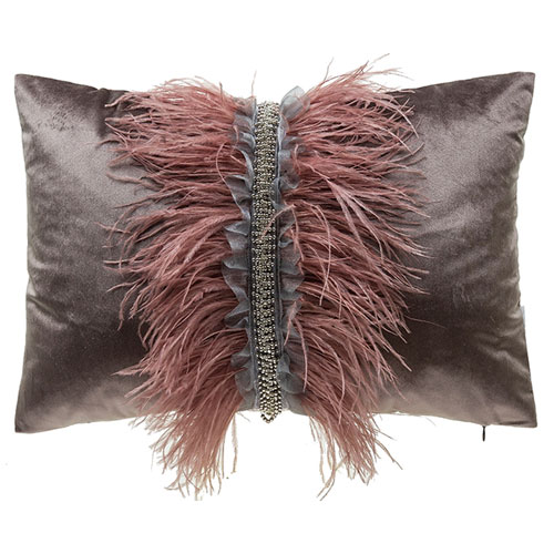 Ava Brown 14 x 20 In. Decorative Pillow