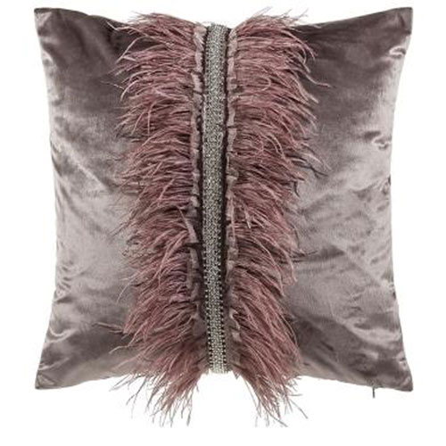 Ava Brown 22 In. Decorative Pillow