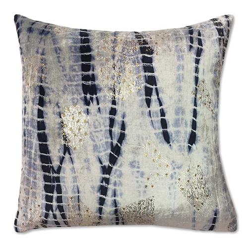 Cloud9 Design Boheme Navy Velvet Decorative Pillow