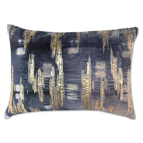 Boheme Silver 14 x 20 In. Decorative Pillow