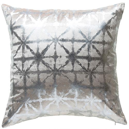 Kora Ivory Velvet Decorative Pillow