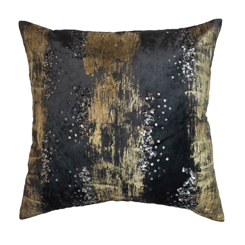 Raina Charcoal 20 In. Decorative Pillow