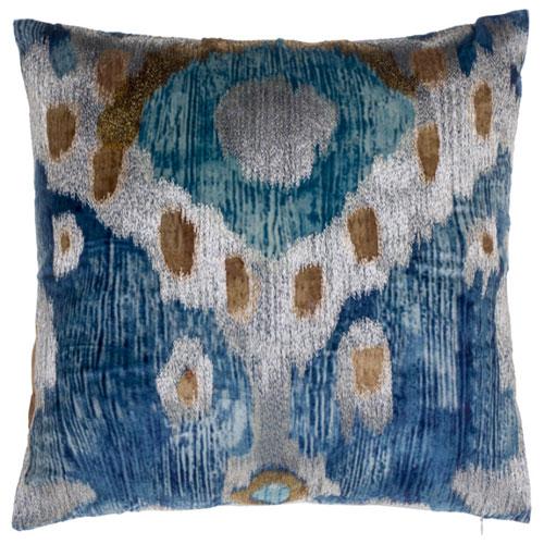 Serino Blue 22 In. Decorative Pillow