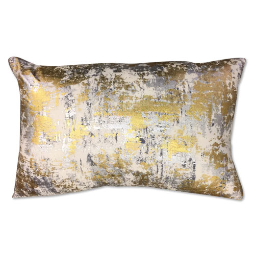 Sona Gold 14 x 20 In. Decorative Pillow