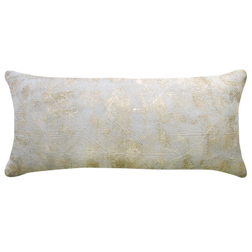 Cloud9 Design Verona Gold 14 x 31 In. Decorative Pillow