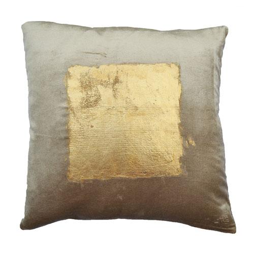 Verona Beige 20 In. Decorative Pillow