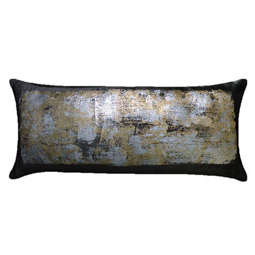 Verona Charcoal 14 x 31 In. Decorative Pillow