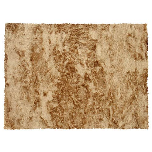 The Rug Market Sensual Gold Rectangular: 5 Ft. x 7 Ft. 6 In. Rug