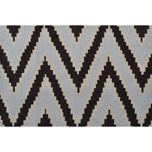 Resort Serpentine Chocolate Rectangular: 5 Ft x 8 Ft Rug