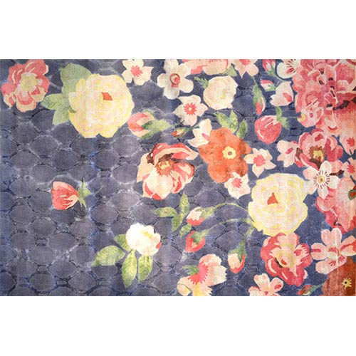 The Rug Market Xanthe Charcoal and Gray Rectangular: 10 Ft. x 13 Ft. Rug