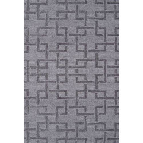 Kids Shimmer Grey Rectangular: 2 Ft 8 In x 4 Ft 8 In Rug