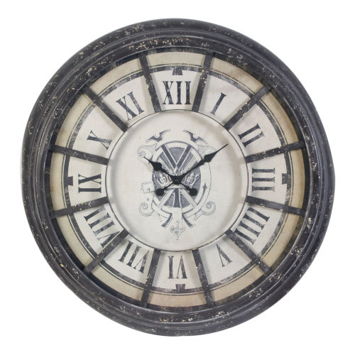 Randall Antique Gray Wall Clock