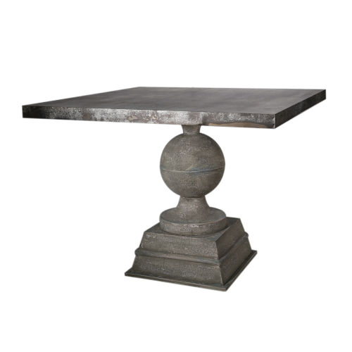 Gold 40-Inch End Table