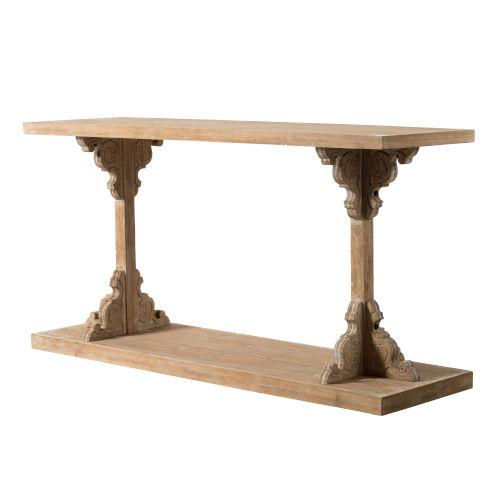 Brown 28-Inch Free Standing Shelf