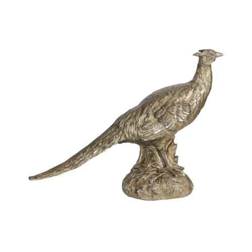 Arturo Bronze Standing Pheasant Figurine