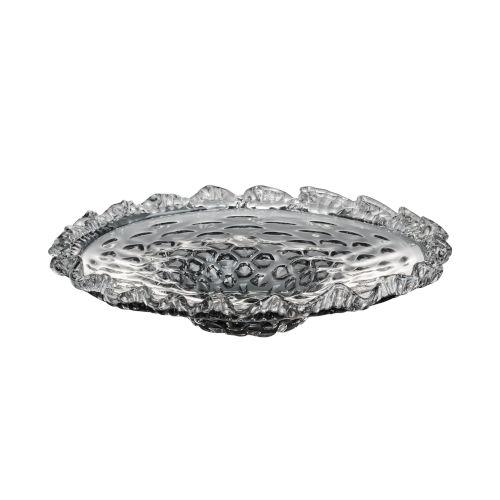 Smoke Decorative Round Plate