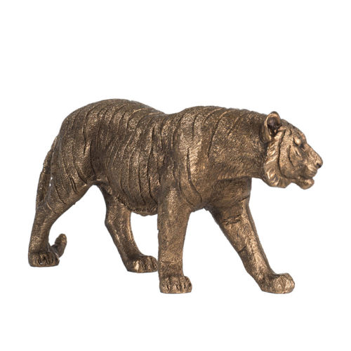 Copper Tiger Figurine