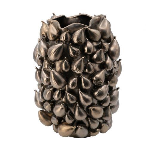 Bronze 18-Inch Ceramic Vase