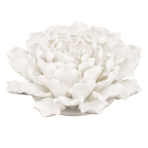 Cream 3-Dimensional Handmade Flower Wall Decor