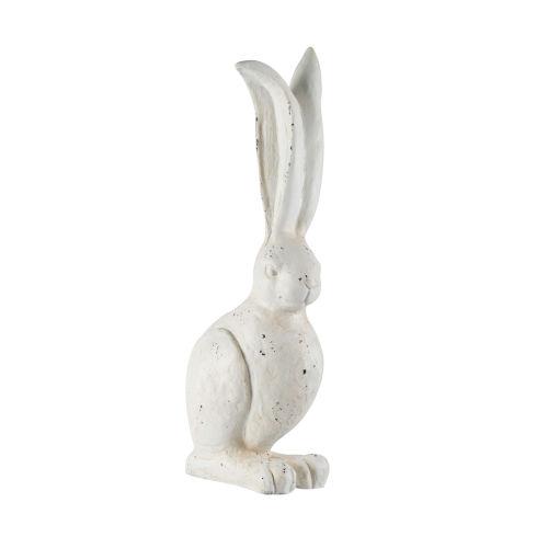 White 8-Inch Rabbit Figurine