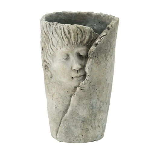 Gray Dreaming Profile Outdoor Planter
