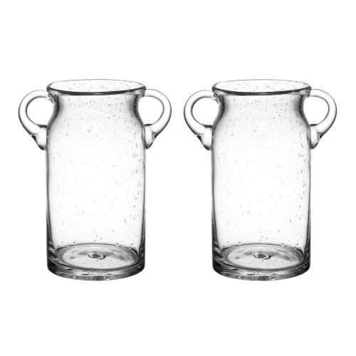 Clear Ice Bucket, Set of 2