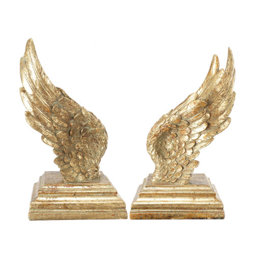 Gold Wing Book Ends