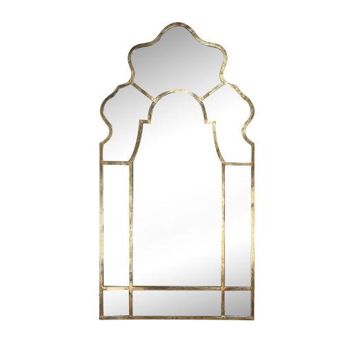 Timeless Gold Garden Mirror
