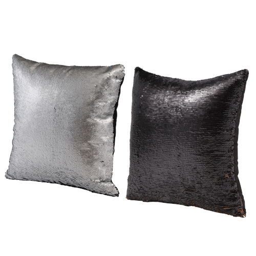 Gray 16-Inch Accent Pillow ,Set of 2