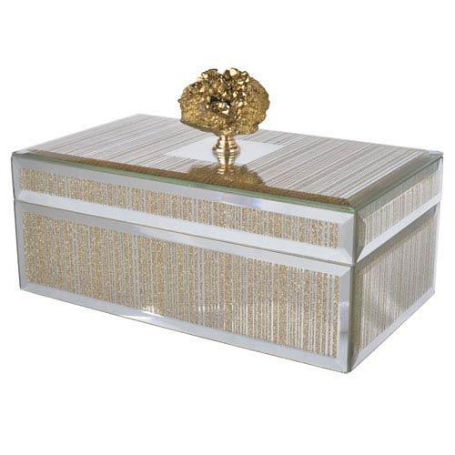 Sullivan Striped Decorative Box