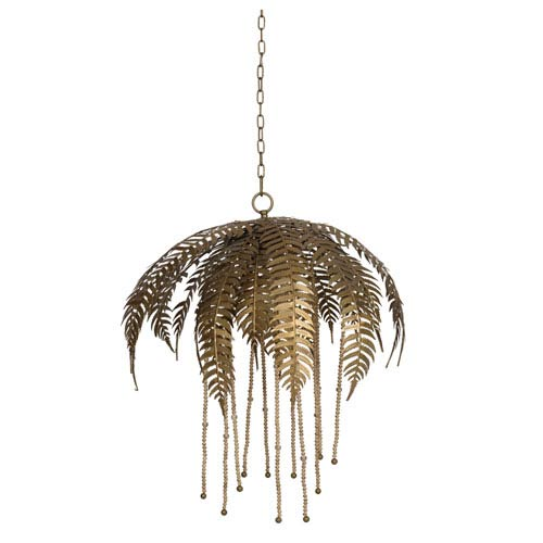 Paola Gold Chandelier