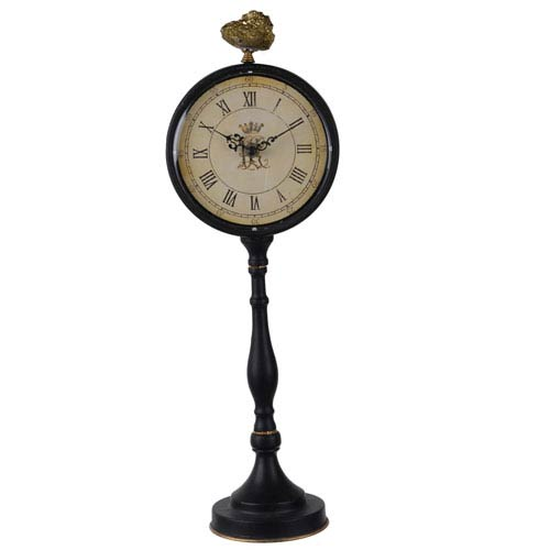 Tall Lavonia Pedestal Table Clock