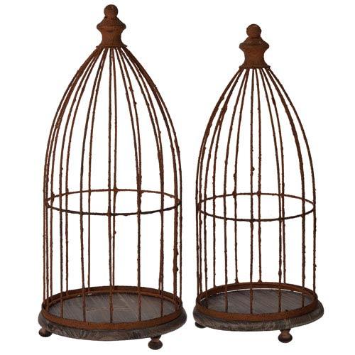 Glendive Birdcages, Set of Two