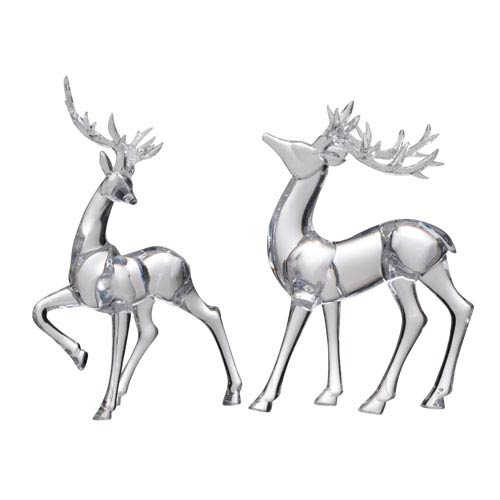 Lovell Reindeer Accents, Set of Two