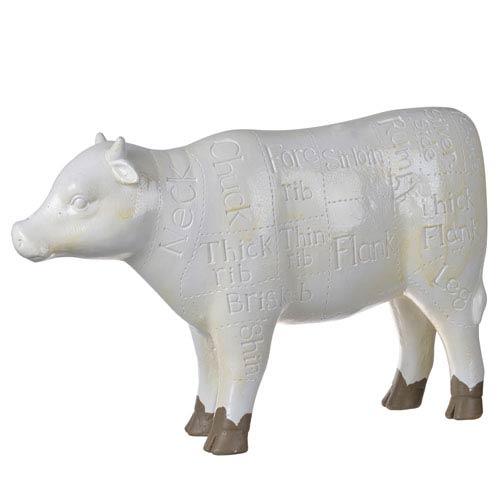 Chefs Cow Sculptural Accent