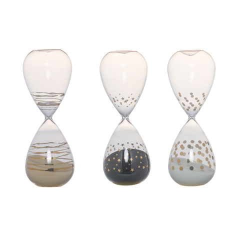 Dixie Hourglass, Set of Three