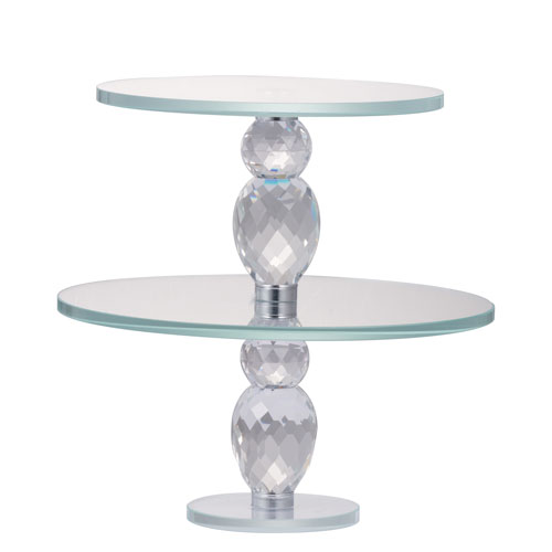 Alighieri Two-Tier Cake Plate