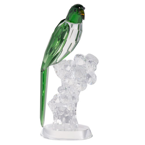 A & B Home Parrot Green Elegance Statue