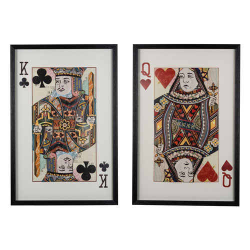 Royal Pair Wall Art, Set of Two