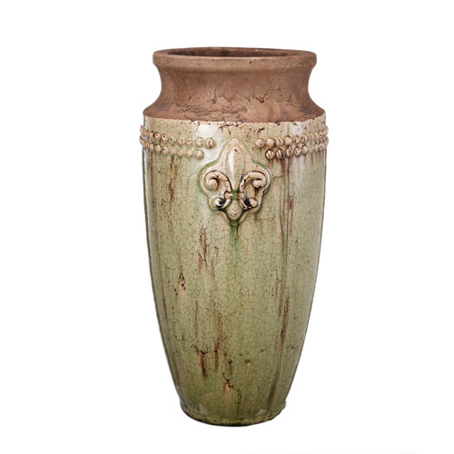 Brown and Grey Decorative Vase