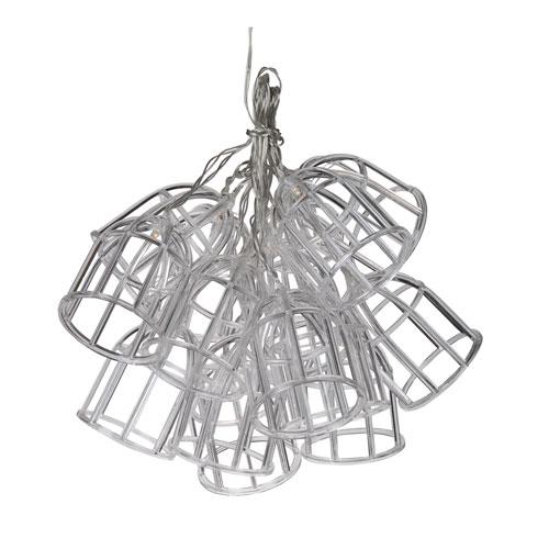 Clear LED String Fifteen-Light Chandelier