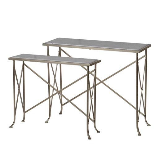 A & B Home Natick Console Tables, Set of Two