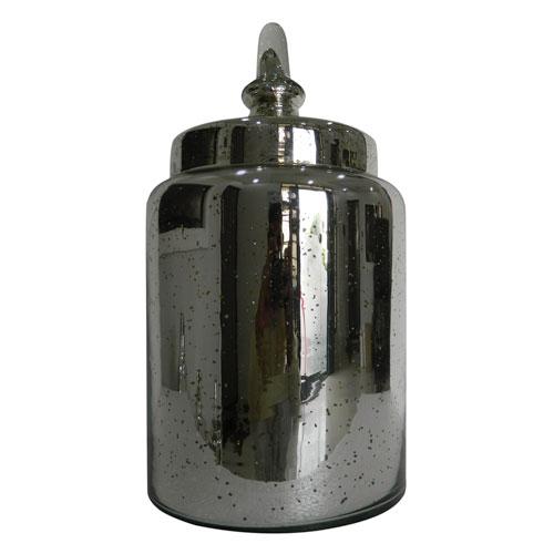 Antique Silver Lidded Jar