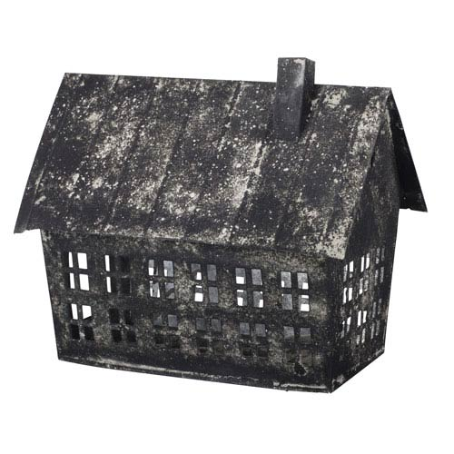 Florence de Dampierre by AB Home Black Metal Bird House Candle Holder