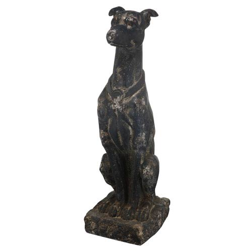 Florence de Dampierre by AB Home Antique Black Dog